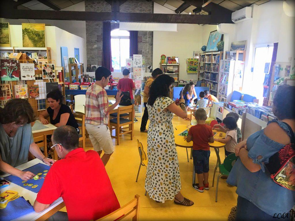 Atelier Ludothèque - La Cabane des Artistes - médiathèque Laroque-des-Albères